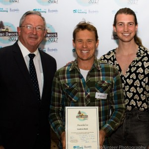 Member for Wakehurst Brad Hazzard with Andrew Reid and Christian Wilkins