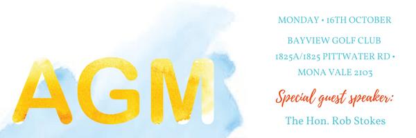AGM 2017 Invitation