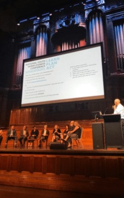 Panel discussion National Youth Homelessness Conference
