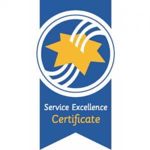 We are accredited by Australian Service Excellent Standards (ASES)