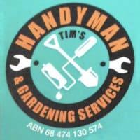 Handyman Tims Gardening Services Logo
