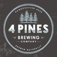 4 pines brewing logo