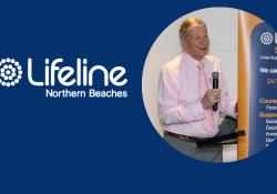 Prof Brian Burdekin talks to Lifeline Northern Beaches Counsellors